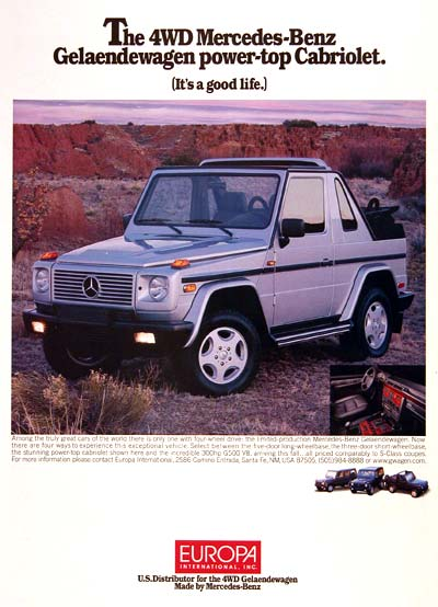 1998 Mercedes G-Wagon #002695