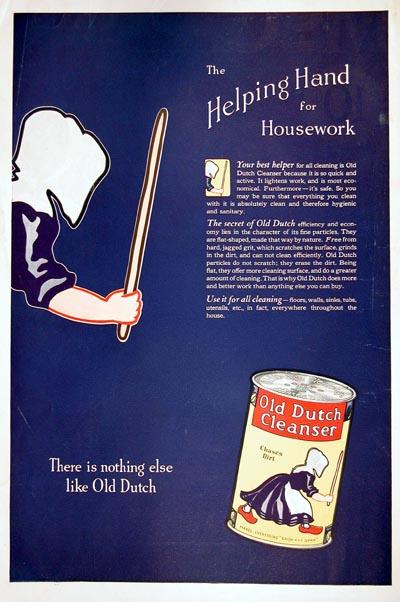 1923 Old Dutch Cleanser Classic Ad #000118