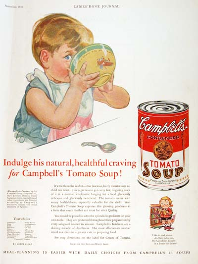 1931 Campbell's Soup Vintage Ad #000320