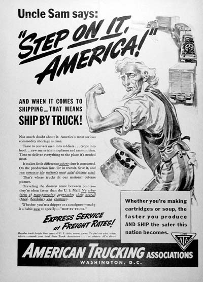 1941 American Trucking Association Vintage Ad