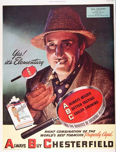 1946 Chesterfield Cigarettes Vintage Ad #000404