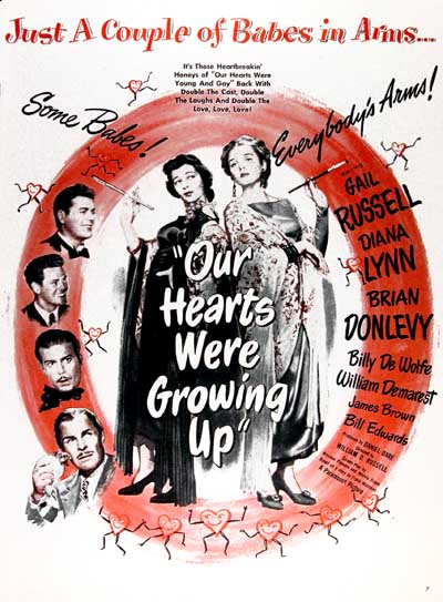 1946 Our Hearts Were Growing Up Classic Ad #000420