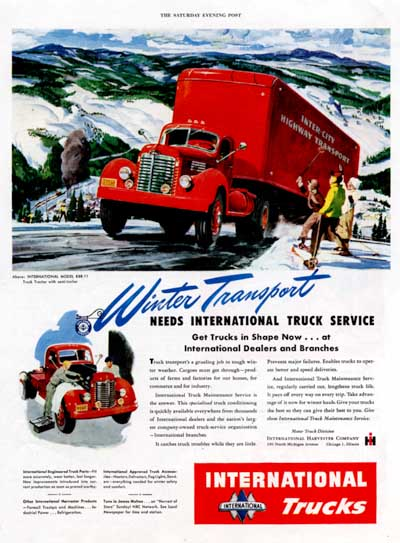 1947 International Trucks Classic Ad #000451