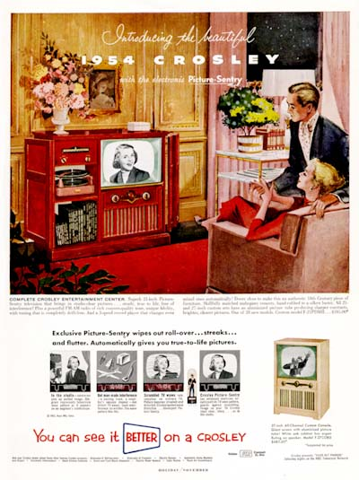 1954 Crosley TV #000604