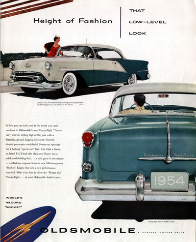 1954 Oldsmobile Coupe #000622