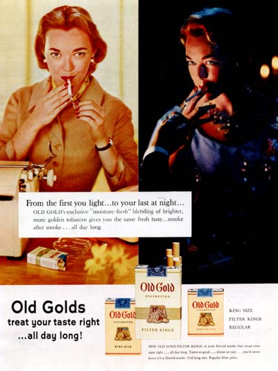 1955 Old Gold #000673