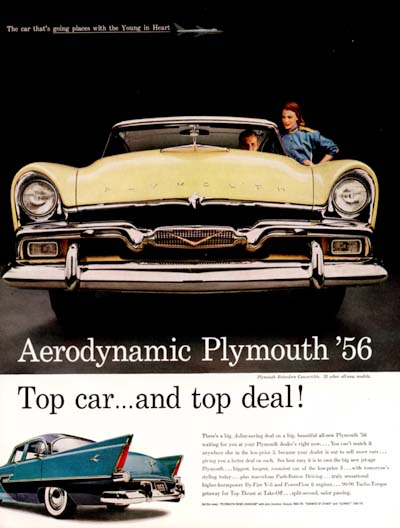 1956 Plymouth Belvedere #000751