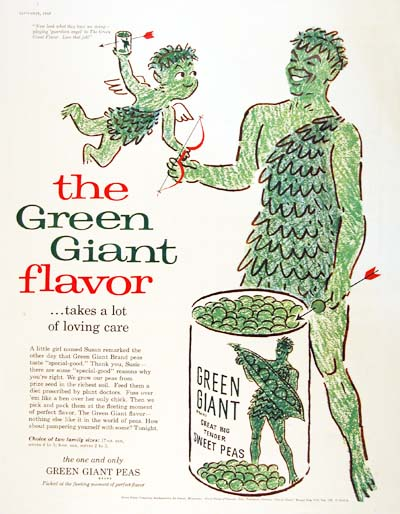 1957 Green Giant