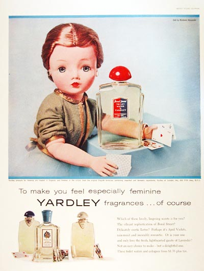 1957 Yardley Perfume #000764