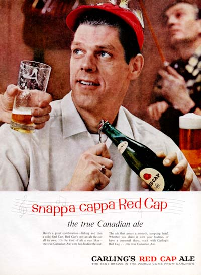 1958 Carling Red Cap