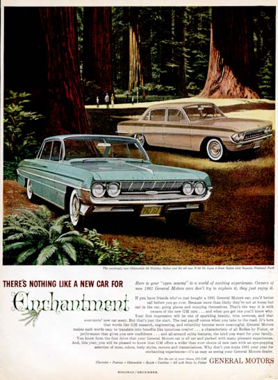 1961 Oldsmobile F85 &  Holiday 98 #000901