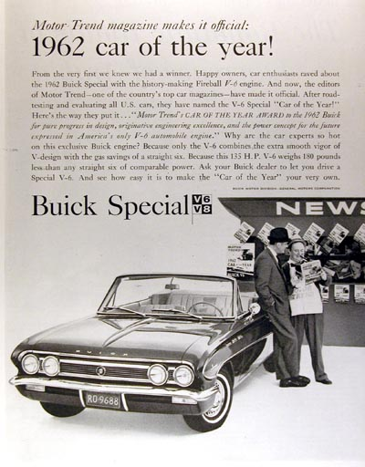 1962 Buick Special Convertible #000936