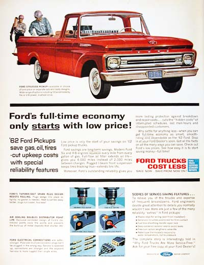 1962 Ford F100 #000925