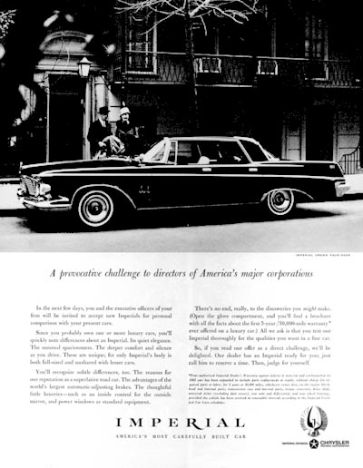 1963 Chrysler Imperial #001004