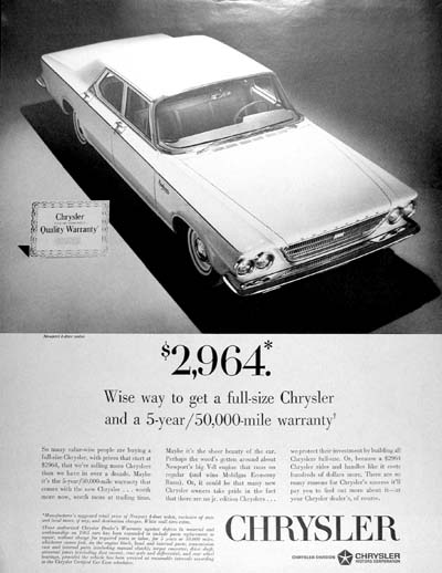 1963 Chrysler Newport #000971