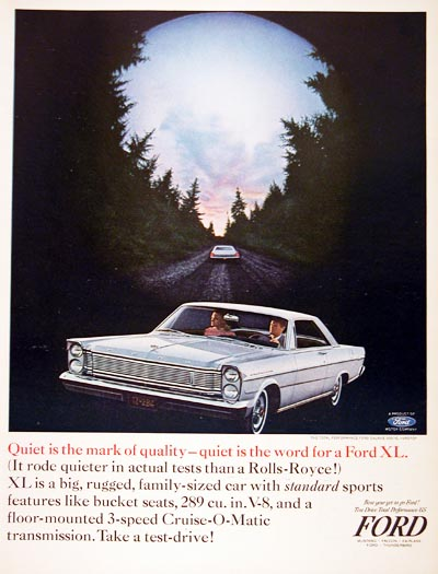 1965 Ford Galaxie 500 #001092