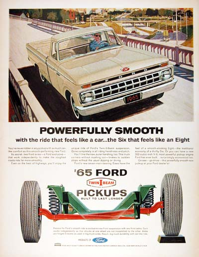 1965 Ford F-100 #001112