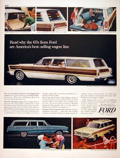 1965 Ford Wagons