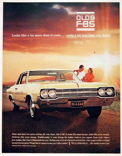 1965 Oldsmobile F85 Coupe  #001104