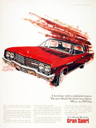 1965 Buick GS #001091