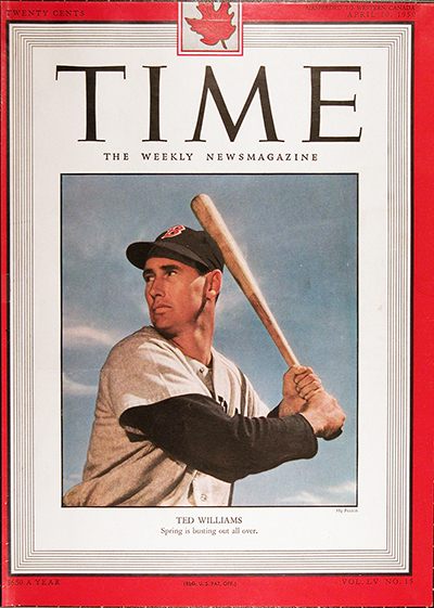 1950 Time Magazine Cover For Sale #025530