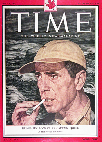1954 Time Magazine Cover - Humphrey Bogart #025576