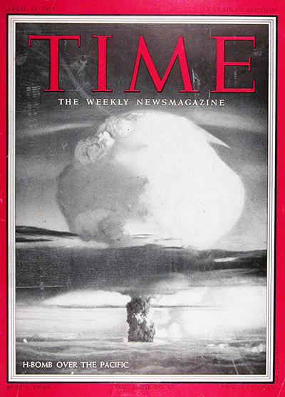 1954 Time Magazine Cover - H Bomb #025574