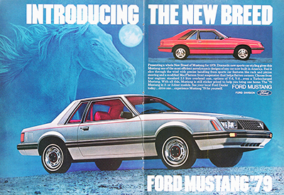 1979 Ford Mustang Vintage Ad #026011