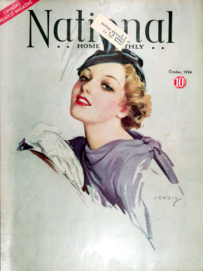 1934 National Home Monthly Cover #025421