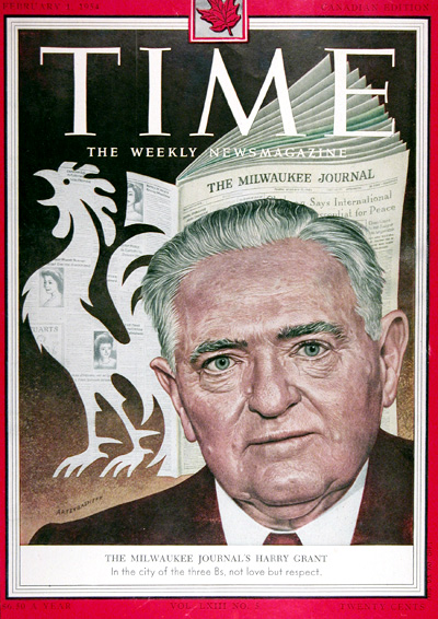 1954 Time Magazine Cover - Harry Grant #025406