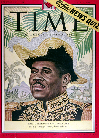 1954 Time Cover - Haiti's Paul Magloire #025408