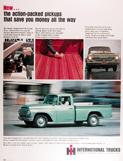 1965 International Pickup Truck Vintage Ad #025465