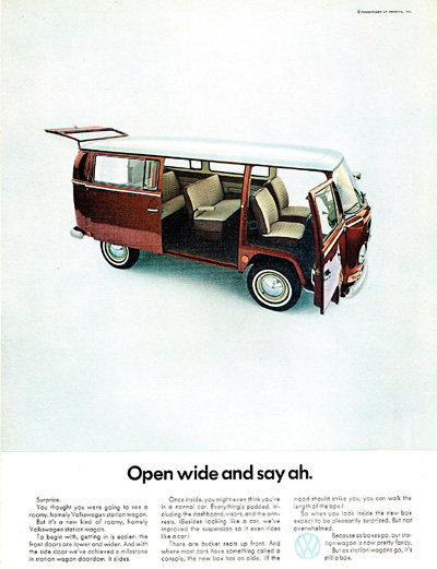1968 Volkswagen Station Wagon Bus #025499