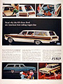 1965 Ford Station Wagon Line